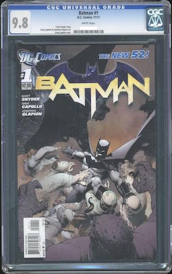 Batman #1 New 52: original edition. Click to buy