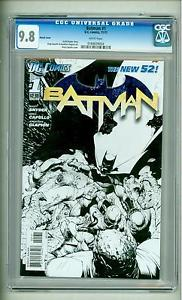 Batman #1 New 52: sketch variant. Click to buy