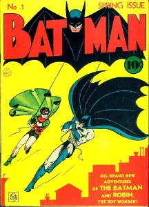Batman #1 (1940). One of the rare comic books everybody would love to discover!