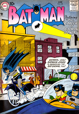 Batman Comic #108 sees