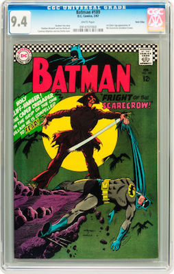 Currently selling for under $1000, a crisp CGC 9.4 copy of Batman #189 is a bargain! Click to find yours