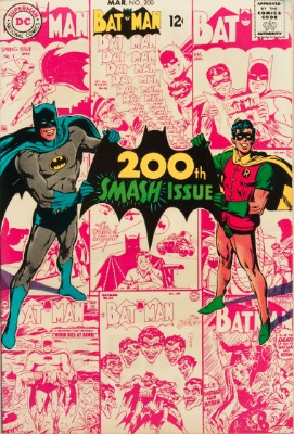 Batman #200 (March 1968): The Scarecrow Radiates Fear! Click for value