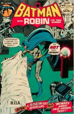 Origin and First Appearance, Doctor Moon, Batman #240, DC Comics, 1972. Click for value
