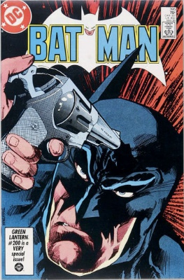 Origin and First Appearance, Film Freak, Batman #395, DC Comics, 1986. Click for value