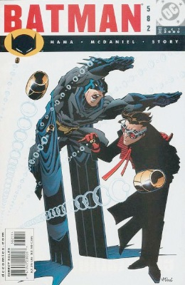 Origin and First Appearance, Zeiss, Batman #582, DC Comics, 2000. Click for value