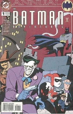 Origin and First Appearance, Roxy Rocket, Batman Adventures Annual #1, DC Comics, 1994. Click for value