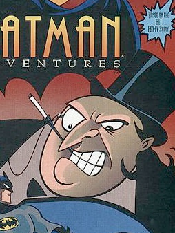 Penguin stars on the cover of The Batman Adventures issue 1 in 1992