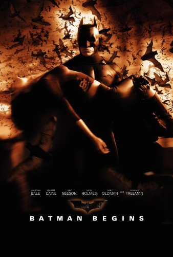 Batman Begins is at #8 on our all-time top 10 best movies based on comic books