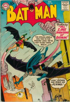 You can see why Batman is so popular. Where does he get all those wonderful toys? Click for value
