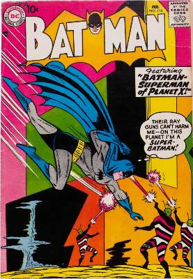 Batman Comics 113. Click for current values.