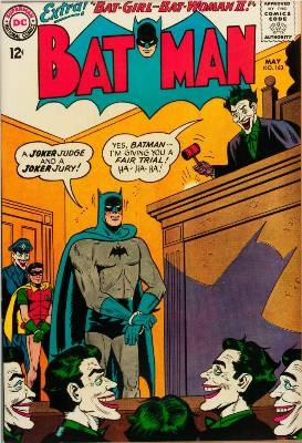 Batman Comics #163, Joker cover story