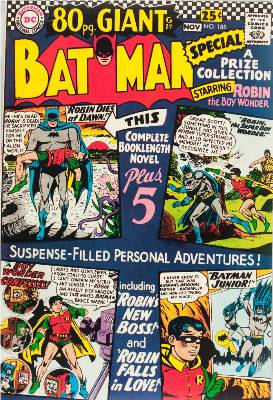 Batman Comics 185. Click for current values.