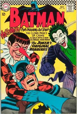 Batman Comics 186. Click for current values.