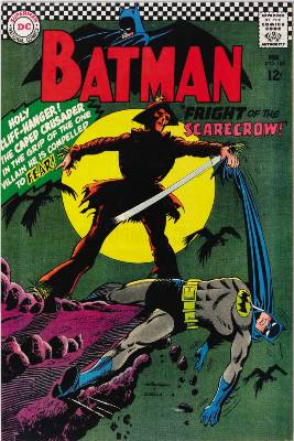 Hot Comics #34: Batman #189, 1st Silver Age Scarecrow. Click to find yours!