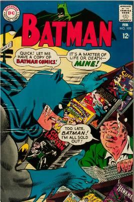Batman Comics 199. Click for current values.