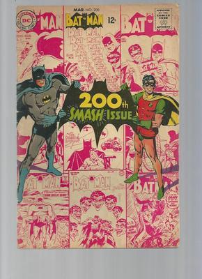 Batman Comic #200 Value