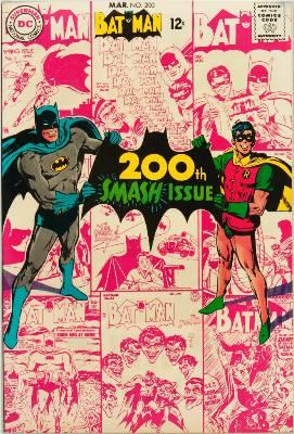 Batman Comics 200. Click for current values.