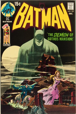 Batman #227 (1970): Classic Neal Adams Cover, One of the hottest Bronze Age comic books. Click for value
