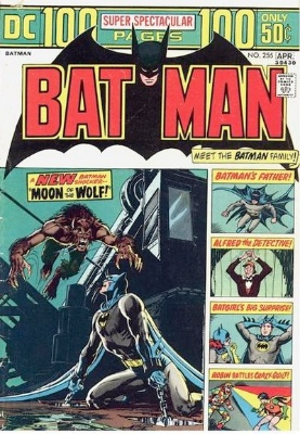 Origin and First Appearance, Anthony Lupus, Batman #255, DC Comics, 1974. Click for value