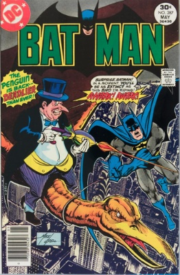 Batman #287, May, 1977: Penguin Escapes, Again. Click for value