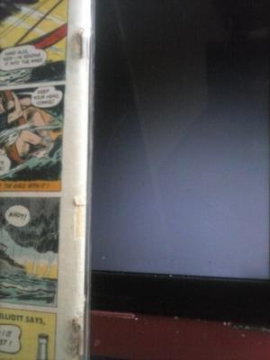 Batman Comic #36 Value: close-up of spine problems