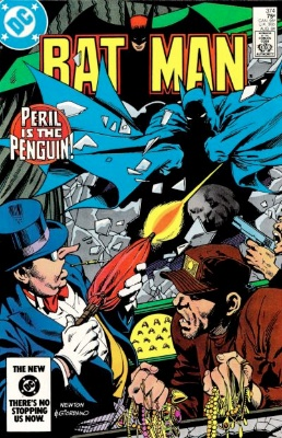Batman #374, August 1984: Penguin in the 1980s. Click for value