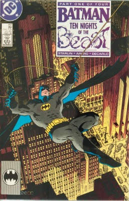 Origin and First Appearance, KGBeast, Batman #417, DC Comics, 1988. Click for value