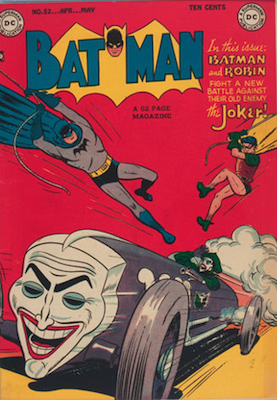 Batman #52. Click for value
