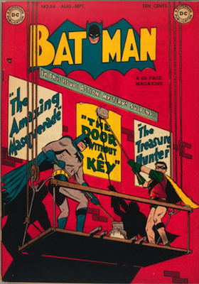Batman Comic #54. Click for value