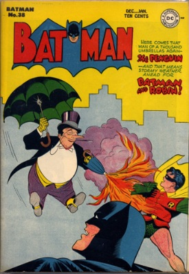 Batman #38. Two-Face returns. Click for value