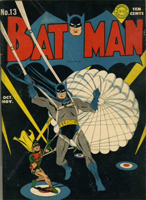 Batman #13, Record sale: $5,000. Click for values