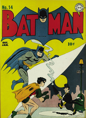 Batman Comic #14, December 1942. Click for value