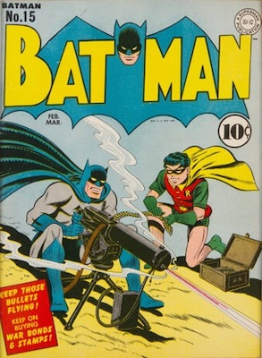 Batman #15, Record sale: $8,000. Click for values