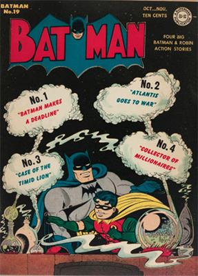 Batman #19. A Joker story, a Nazi story, and a villain named