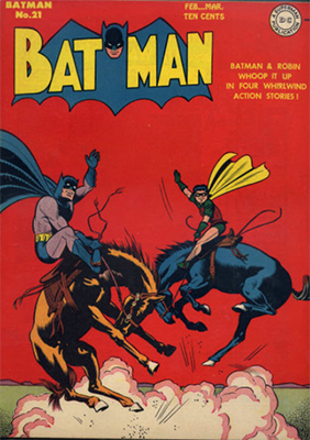 Batman Comic #21. Click for values