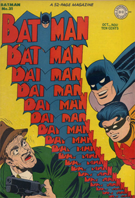 Batman Comic #31. Click for value