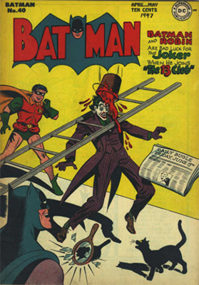 Batman Comic #40. Joker cover. Click for value