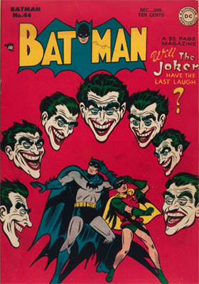 Batman Comic #44. Great Joker cover. Click for value