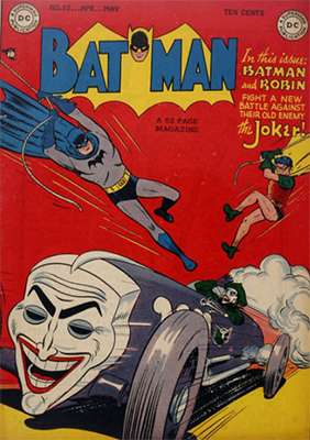 Value of Vintage Batman Comic Books