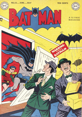 Batman #53. Click for value