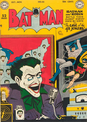 Batman #55. Another Joker cover. Click for value
