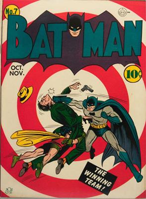 Batman #7, Record sale: $22,000. Click for values