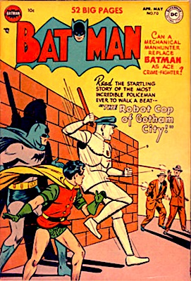 Batman Comic #70. Robot cover. Click for value