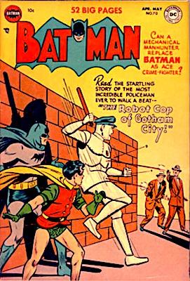 Batman Comic #70. Robot cover. Click for value