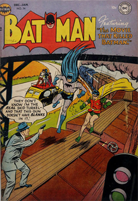 Batman Comic #74. Click for value