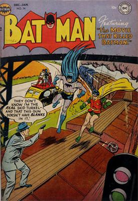 Batman Comic #74. Click for value
