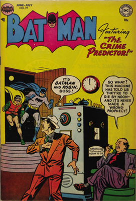 Batman #77. Click for value