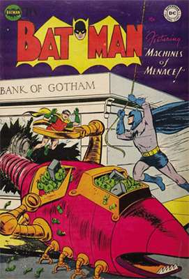 Batman Comic #80, sci fi theme. Click for value