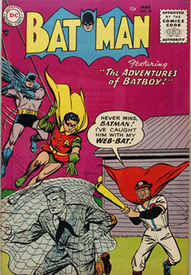 Batman #90, March 1955; First Issue With Comics Code Seal. Click for value