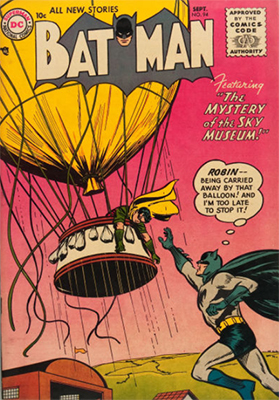 Batman #94, September 1955. Click for value